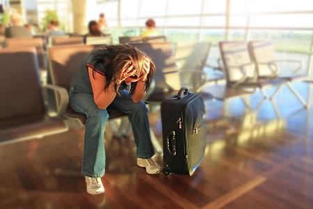 טיסה שהתעכבה או בנחיתה גילית שהמזוודה לא הגיעה