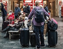 המזוודה התקבלה רק לאחר 4 ימים